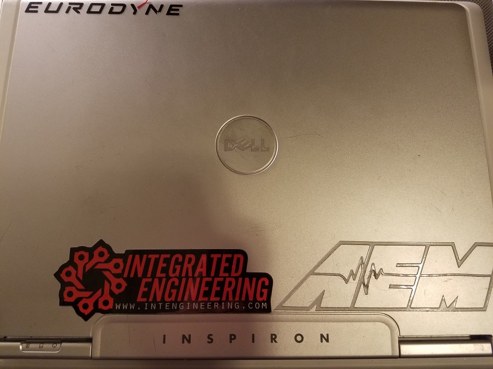 Dell E1505 Laptop With Stickers