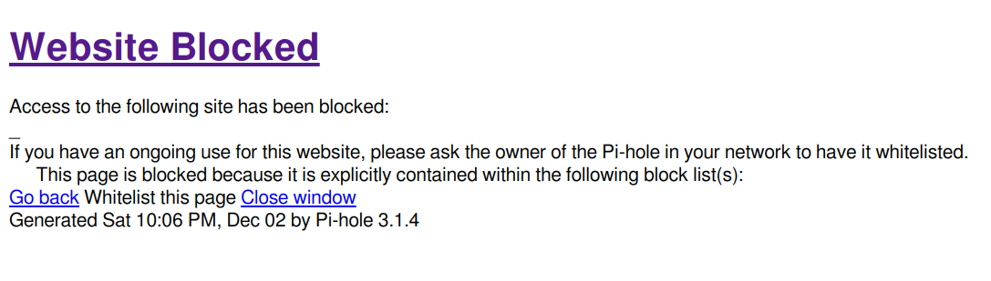 Install Pi-hole on Arch